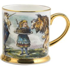 ALICE Unicorn espresso cup (£35) ❤ liked on Polyvore featuring home, kitchen & dining and drinkware