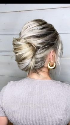 Work Hairstyles, Easy Hairstyles For Long Hair, Spring Hairstyles, Pretty Hairstyles, Athletic Hairstyles, Hairdos, Wedding Hairstyles, Natural Hair Updo, Natural Hair Styles