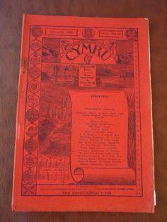 1913  WALES CYMRU MAGAZINE  WELSH LANGUAGE  SIR HUGH MYDDELTON  | eBay
