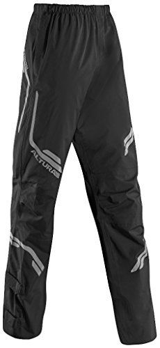 Altura Night Vision Ladies Waterproof Overtrousers The Altura Night Vision Womens Overtrousers are a perfect addition to any commute and can easily be whipped out of your bag and easily put on when the weather turns. This Altura ladies overtrouser is ergonomically crafted to a women-specific fit.Ergonomic, women-specific fit3-stage leg length adjuster. Side velcro adjuster tabs for a tighter lower leg fitWaterproof, wind-resistant and breathable materialsNV360-degrees reflec