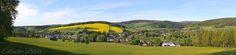 Panoramablick auf #Erlbach #Vogtland #Sachsen #Landschaft #Natur #Urlaub #Erholung