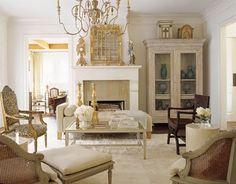 LOVE this living room setup!