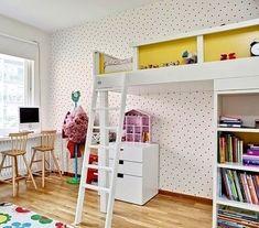 Click Interiores | Quarto de Criança com Teto Alto