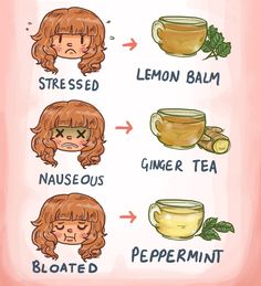 """Always there's a solution out there indeed. Just search in #nature or somewhere in your kitchen. """"IT'S ALWAYS TEA TIME!"""""""