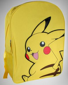 Hey Krebs off backpacks. Pokemon Dolls, Pokemon Costumes, Pokemon Fan, Pokemon Jewelry, Pikachu, Backpack Purse, Pokemon Backpack, Pokemon Movies, Pokemon Perler Beads