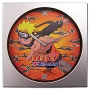 Naruto Shippuden Naruto Wall Clock - http://lopso.com/interests/clocks/naruto-shippuden-naruto-wall-clock/
