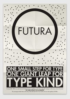 One of my favorite fonts.  Futura Type Specimen by Sam Krauser, via Behance