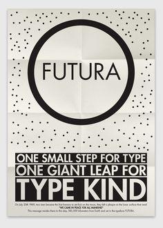: : poster : : visualgraphic: Futura : :