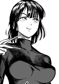 Anime Girl Hot, Manga Girl, Anime Art Girl, One Punch Man Funny, One Punch Man Manga, Chica Anime Manga, Kawaii Anime, Fanarts Anime, Anime Characters