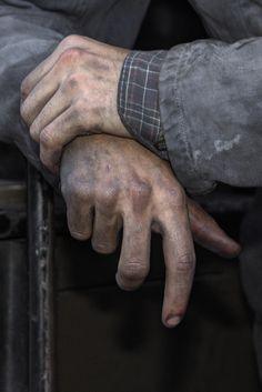 Worker's hands by Steve012345 (300,000+ Thanks), via Flickr