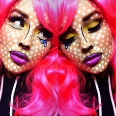 pop art makeup - Google Search