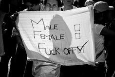 """""""Gender equality"""" isn't enough – the very concept of gender is the enemy of liberation – GEORGE GILLETT"""