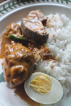 Azie Kitchen: Nasi Dagang Terengganu Buat Sarapan