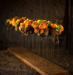 Pin by GlobalPetals on Gregor Lersch Designs Art Floral, Floral Artwork, Deco Floral, Simple Flowers, Green Flowers, Ikebana, Flower Structure, Corporate Flowers, Flora Design
