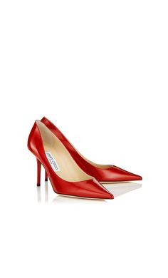 224104d68ca3 Agnes Pointy Toe Pumps in Red Patent. Discover our Choo 247 Collection and  shop the latest trends today.