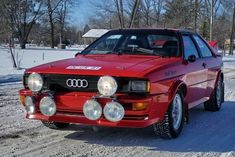 Find Cars For Sale | 1981 Audi Turbo Quattro Coupe Ur Rally Car For Sale Front