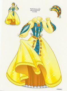 Miss Missy Paper Dolls: princess