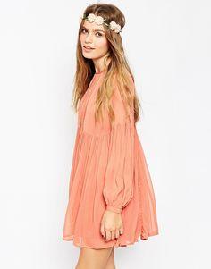 Image 1 of ASOS Soft Babydoll Dress