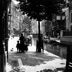 Delftsevaart 1914 Foto: Henri Berssenbrugge Collectie: Stadsarchief Rotterdam