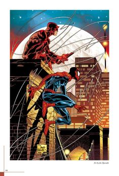 Daredevil and Spiderman