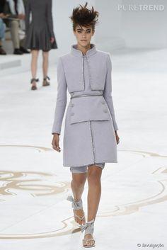 O desfile Barroco e Modernista de Alta-Costura da Chanel