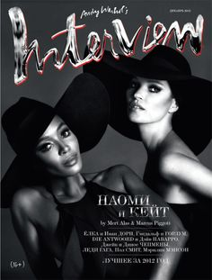 Interview Russia December 2012 : Naomi Campbell and Kate Moss by Mert & Marcus - Page 3 - the Fashion Spot