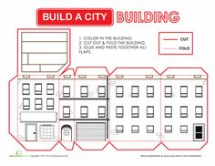 Worksheets: Build a City: Building