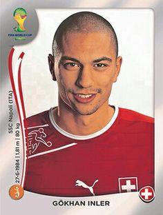 346 Gökhan Inler - Switzerland - FIFA World Cup Brasil 2014