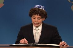 Saturday Night Live: Weekend Update: Vanessa Bayer is Jacob the Bar Mitzvah Boy #SNL #LeChaim