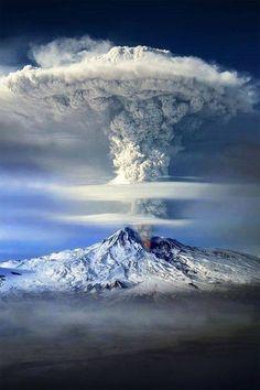 Mount Ararat Eruption , Turkey