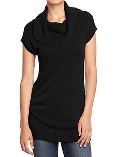 Women's Cowl-Neck Tunic Sweaters   Old Navy