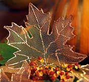 Leaves made from old window screens.  Beautiful!