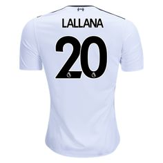 c0d781e230e 17/18 Liverpool Adam Lallana #20 Away Jersey New Balance Liverpool 2017,  Soccer