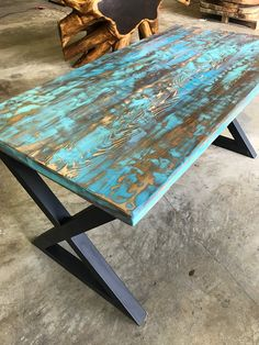 Size shown: 60 x 30. This item is made with reclaimed aromatic cedar wood and finished for a boat wood appearance that is common with Indonesian and Indian furniture making. All UMBUZÖ wood products are made with non toxic stains and water based sealants. This item is also lead free.