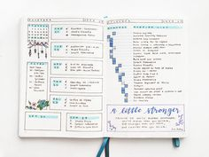Running list - Yu's Daily Log in her Bullet Journal