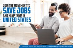 Identify Indian Companies who steal American jobs. Send there information with savejobs@concept-inc.com