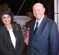 Seychelles Minister St.Ange meets new President Ameenah Gurib-Fakim of Mauritius