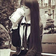 #Ulzzang Gosh, why is she so pretty? ;_;
