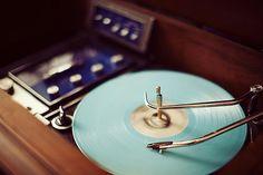 #vinyl #lightblue #vintage