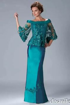 Buy High Quality Dresses from Dress Factory Evening Dresses With Sleeves, Cheap Evening Dresses, Evening Gowns, Cheap Dress, Evening Party, Mother Of Groom Dresses, Mothers Dresses, Bride Dresses, Mantel Elegant