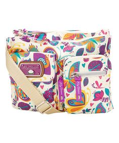 Lily Bloom Butterflies Bugabo Regina Crossbody Bag afa2f3d8fc460