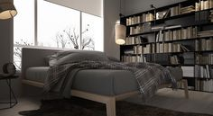 Small Apartment Design Concept With Light Interiors Beautiful Bedroom Designs, Beautiful Bedrooms, Small Apartment Design, Small Apartments, Home Bedroom, Bedroom Decor, Interior Architecture, Interior Design, Space Interiors