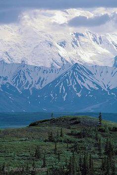 Denali from Wonder Lake, Alaska Range, Alaska