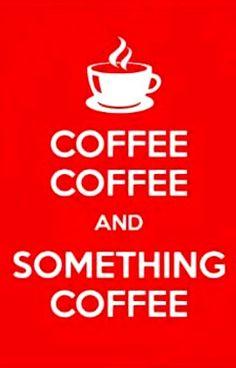 Coffee Coffee Coffee♥Craft Coffee art www.zazzle.com/keep_calm_coffee_poster-228624414388857808