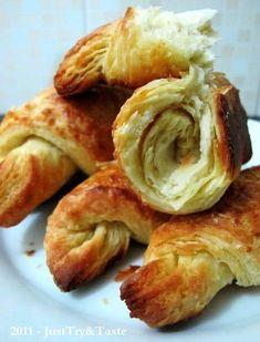 Step by step membuat croissant yang renyah dan mudah dibuat