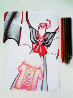 What you believe?  -Em andamento! Desenho inspirado em Dungeons & Dragons. Utilizando lápis 2B e aquarela.