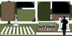 """Arlington National Cemetery"" Scrapbook Kit"