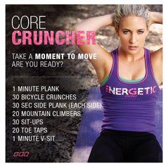 Lorna Jane - Core Cruncher Workout