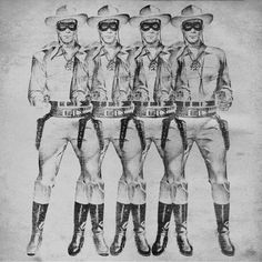Lone Ranger pop art poster pop art print Andy Warhol poster pop art photo cool poster cool print graphic print graphic photo graphic poster by Antiquephotoarchive on Etsy https://www.etsy.com/listing/273934054/lone-ranger-pop-art-poster-pop-art-print