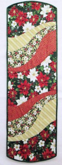 Holiday Elegance EZ Breezy Quilt As You Go Table Runner Kit